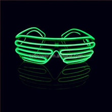 Yellow Charming Ray-ban el wire glasses led sunglasses for party decoration