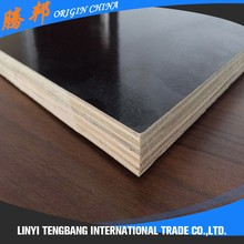 18mm engineered film faced poplar plywood sheet for construction