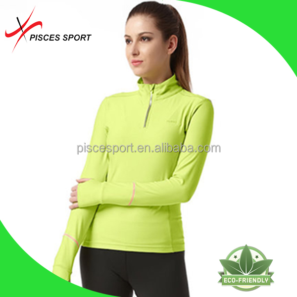 wholesale cheap dri fit gym shirts breathable long sleeve running shirts
