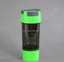 600ml Exercise whirlwind shake bottle Protein powder drink bottle