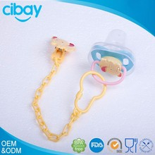 natural rubber funny baby big nipple pacifier with cover