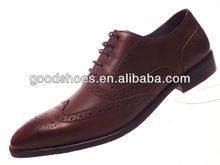 Wholesale leather men dress shoes in guangzhou