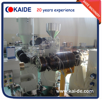 Three layer pipe coextrusion machine for PEX/EVOH oxygen barrier pipe KAIDE