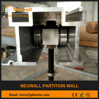 Movable wall component&accessories&ultra-high partition wall track&Roller