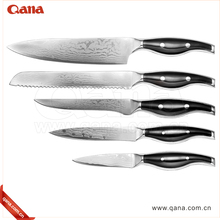 Stainless Steel Kitchen set wusthof knives laser Damascus knife sets