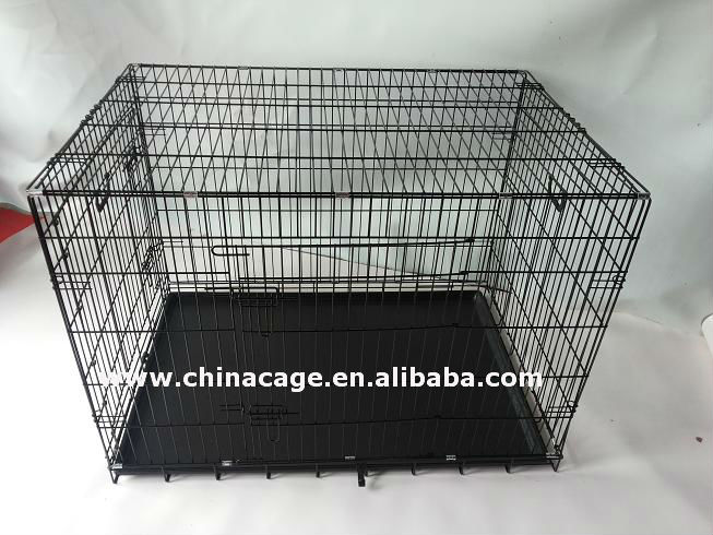 Folding metal wire pet crate,Dog cage,kennel.best sell on Amazon