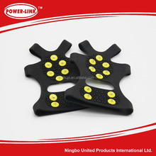 New Environmental rubber 10 nail black antiskid shoes covers