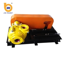 industrial processing high head slurry pump with metal wet parts