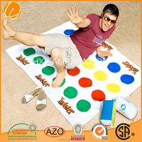 cotton printed twister beach towel game custom made hole sale promotion Cina OEM Manufacture Factory supersoft wholesales