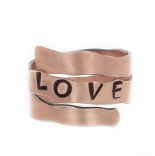 Simple Design Jewelry Zinc alloy Gold Love Ring
