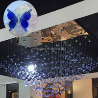 Modern butterfly lamp decorative pendant lighting