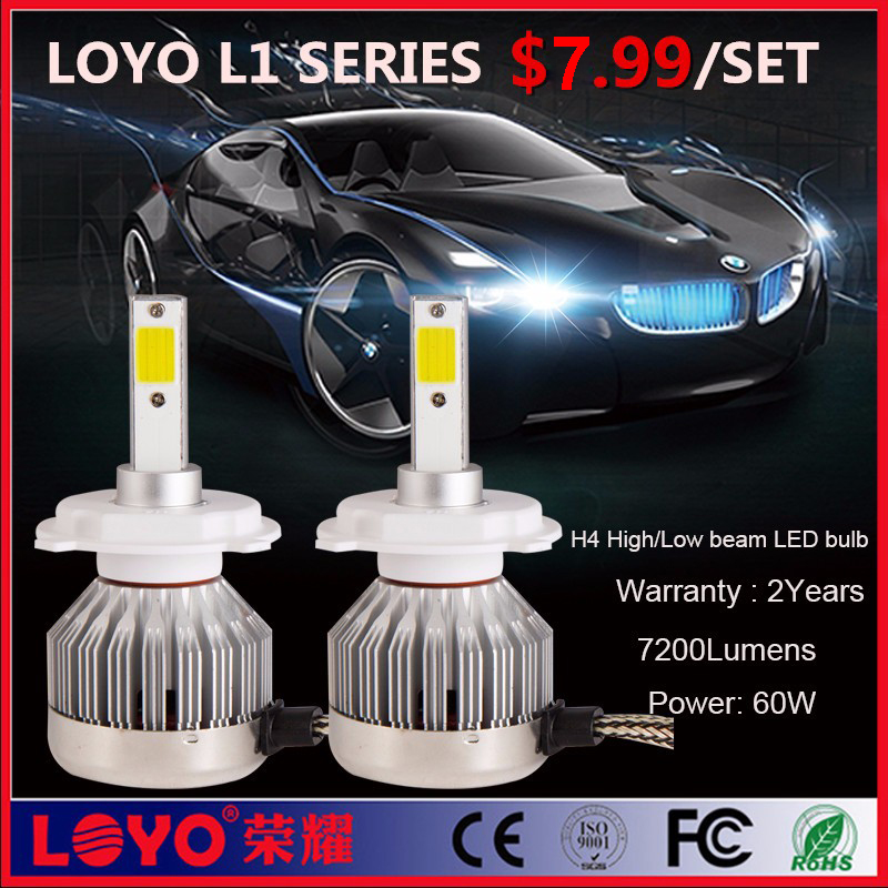 car led lighting wholesale h1 h3 h4 h13 80W auto car led headlight restoration kit