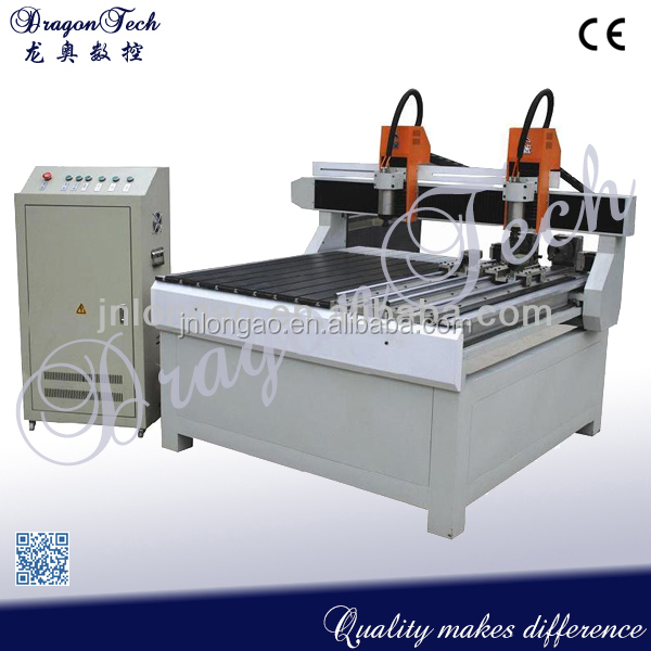 round wood ball milling machine, CNC Router with Rotating Axis DT1212R,4-axis cnc milling machine