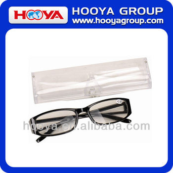 CHEAP PRESBYOPIC READING GLASSES IN PVC BOX, GRADE +50 - +400
