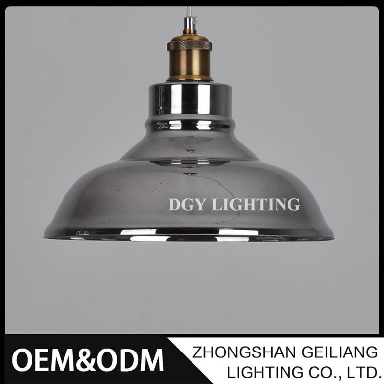 Indoor decorative hanging glass project commercial industrial vintage pendant lamp