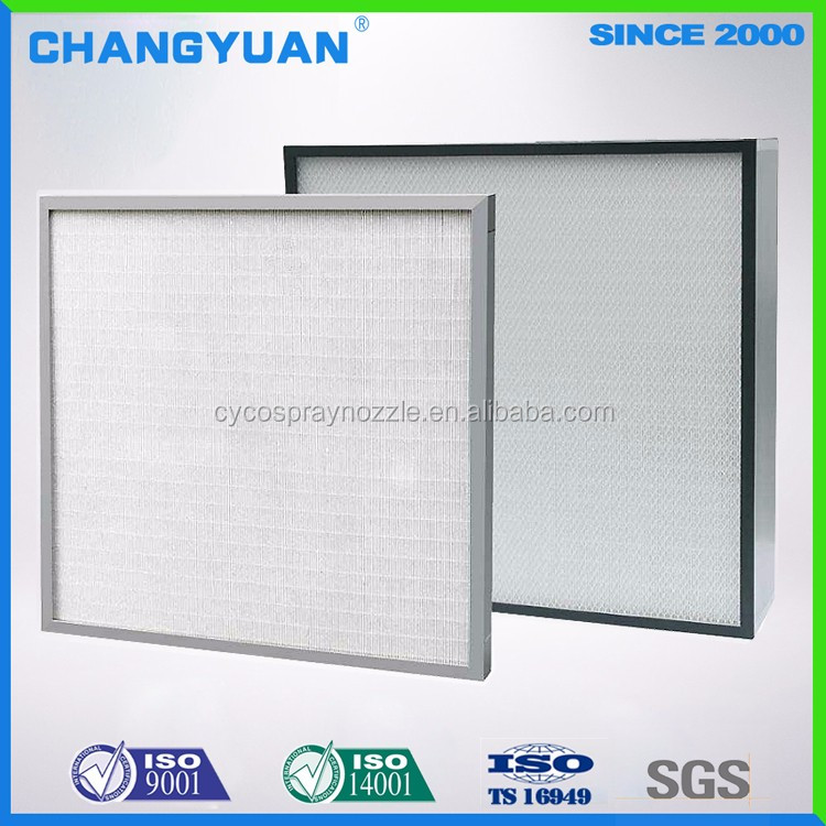 New High Quality Air Filter,Operating Theatre Hepa Filter,Panel Air Handling Unit Air Filter