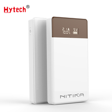 DC210 TYPE C input LCD display Fast charging Portable Power bank Mobile battery pack
