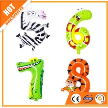Wholesale cheap price animal walking pet balloons for kids toy /promotion