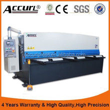 Accurl hot sale 10 x 4000mm CNC aluminum cutting machine for 45 degree