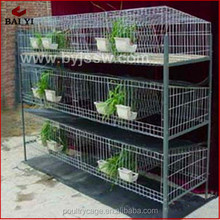 Rabbit Farming Breeding Cages/ Metal Animal Husbandry Rabbit Cage(H type ,alibaba supplier,Made in China)