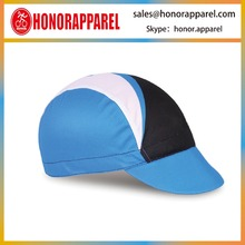 Breathable Custom Logo Wholesale Blank Blue White Black Cycling Bicycle Caps