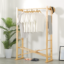 Foldable and Stable Large Bamboo Hanging Clothes Drying Rack