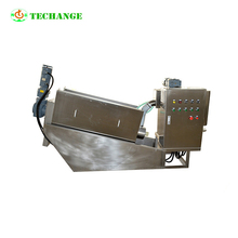 filter press sludge dewatering machine for sewage Water treatment plant