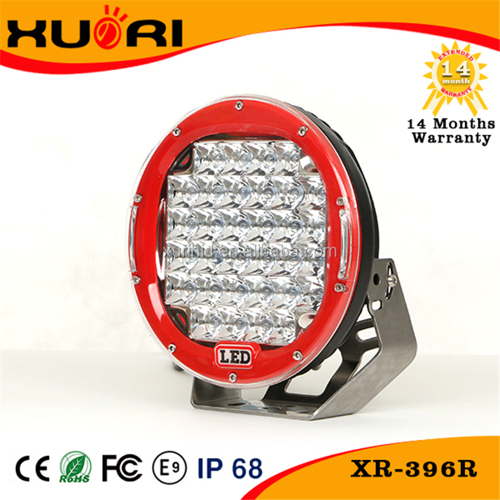 Super bright 96w led working light for tractor high lumens portable led car running light