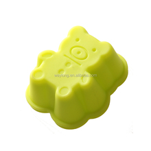 Guaranteed quality proper price custom shaped silicone microwave cupcake pan