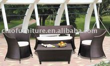 A-2012 hot sell rattan patio furniture seating sofa group