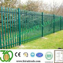 Palisade fencing for Denmark market