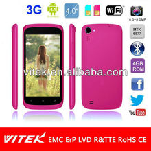 3G Dual Core MTK6577 Android 4.1 Dual Sim 4 inch FWVGA camera Smart Phone