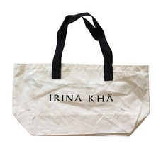 Custom printed canvas tote cotton shopping bags