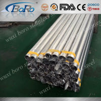 High quality price 304 316 316L 201 food grade stainless steel pipe