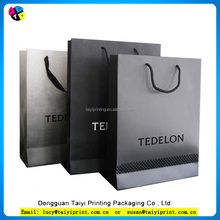 Quality Custom and OEM Kraft Good Looking Luxury Paper Shopping Bag