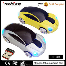 1600dpi 3d wireless beetle car optical 2.4g wireless mouse