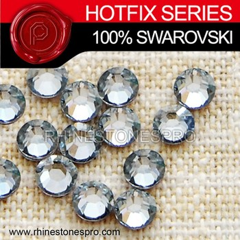 Fashion Dress Swarovski Elements Silver Shade (SSHA) 16ss Crystal Iron On Hotfix Rhinestone