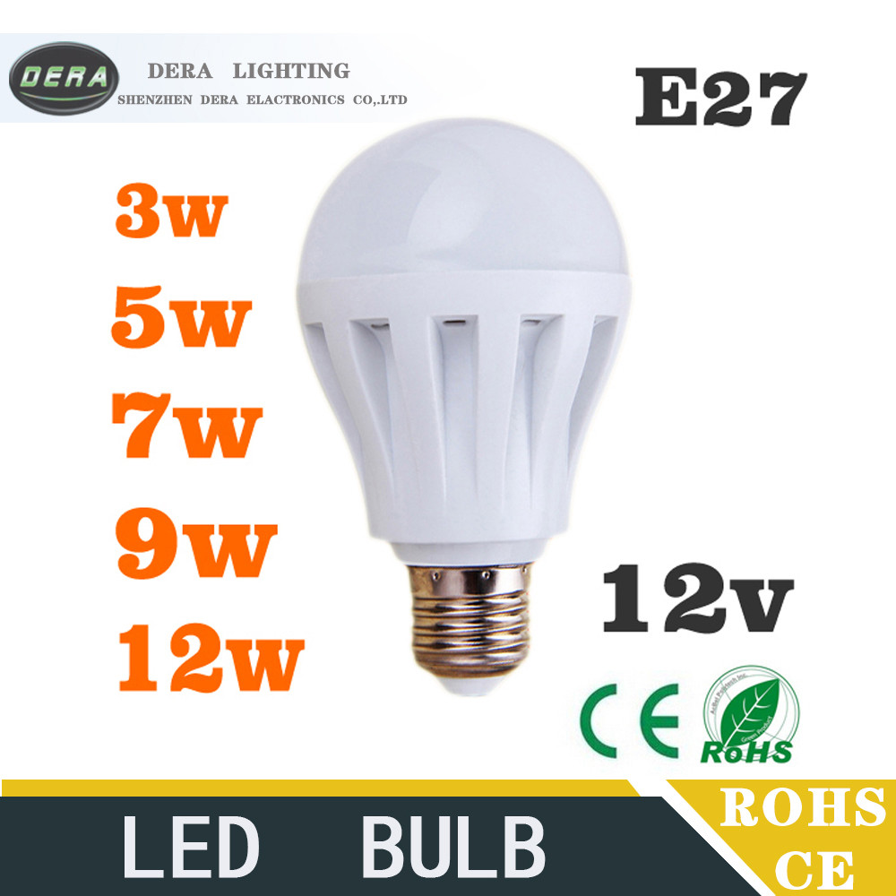 dc12V e27 led filament bulb new product 3w led lighting bulb