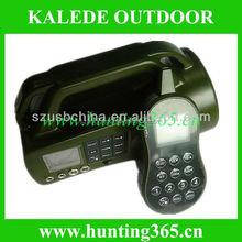 Fox caller electronic hunting game caller with 250yards remote control built-in speaker cp-550