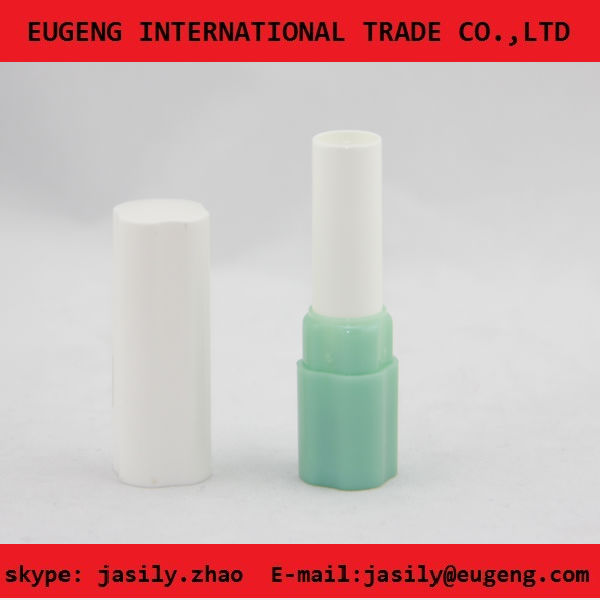 Candy color plastic lip balm case