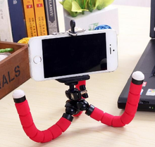 Silver and Black Mini Extendable Tripod for Cameras and Phones mobile selfi stand