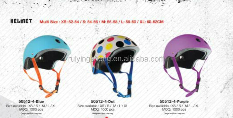 customized printing sports safety kids skateboard helmet