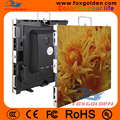 Die-casting cabinet P4 full color LED screen panel for indoor rental