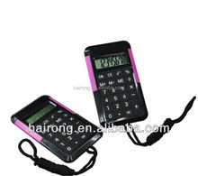 Hairong portable electronic pocket calculator shaped mobile