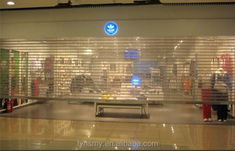 crystal roller shutter doors can be used for commercial, bank vault