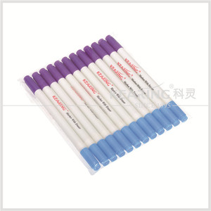 Kearing dual 1.0mm tip Air+Water Erasable marker non toxic Erasable pen for temporary marking on fabric#kt10-vb