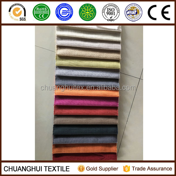 polyester linen fabric, linen look like fabric,material for sofa set
