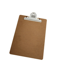 Hot sale A4 clips clipboard bằng gỗ với butterfly