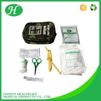 General medical supplies dressings and care for materials canvas first aid bag