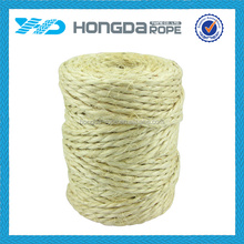 China supply high quality raw fiber sisal rope 50mm
